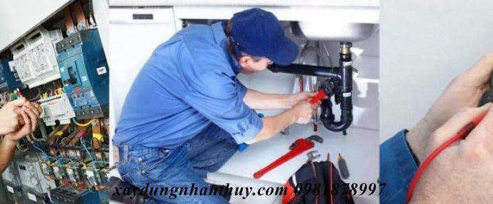 dịch vụ sửa chữa điện nước giá rẻ