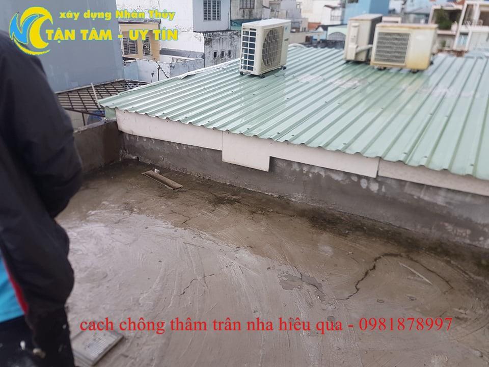 cách chống thấm trần nhà đơn giản hiệu quả
