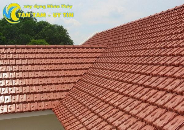 cách xử lý chống dột mái tôn xi măng