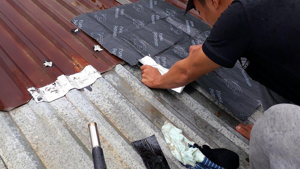 chống dột mái tôn long an