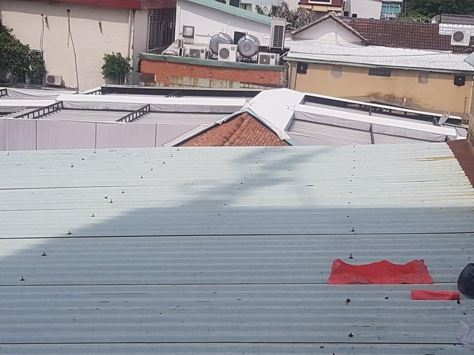 chống dột mái tôn quận 4