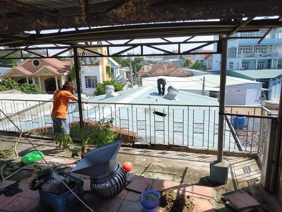 chống dột mái tôn tại quận tân phú