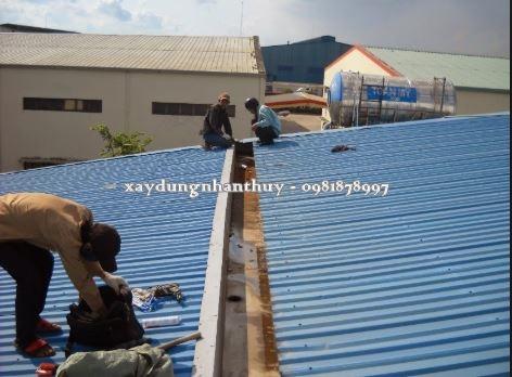 thợ chống dột mái tôn quận 1