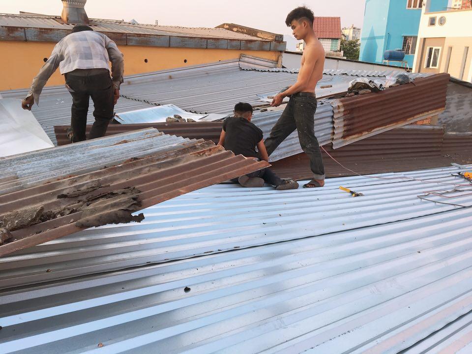 dịch vụ sửa mái tôn quận 6