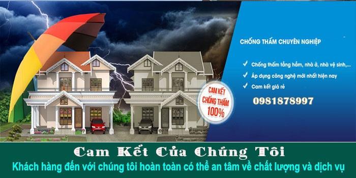 dịch vụ chống thấm nhà giá rẻ tại tphcm