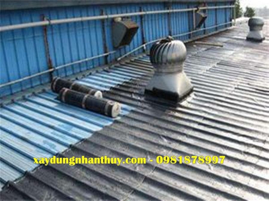 chống thấm mái nhà lợp tôn