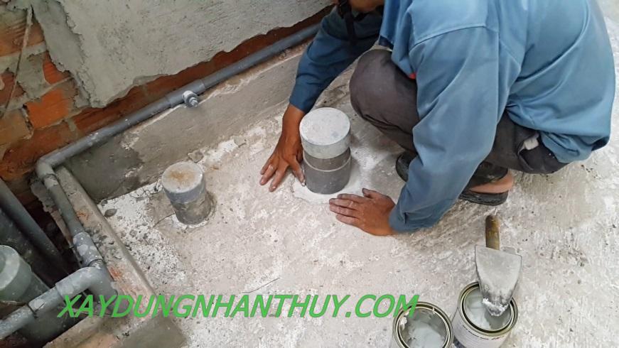 chống thấm nhà vệ sinh tại TPHCM