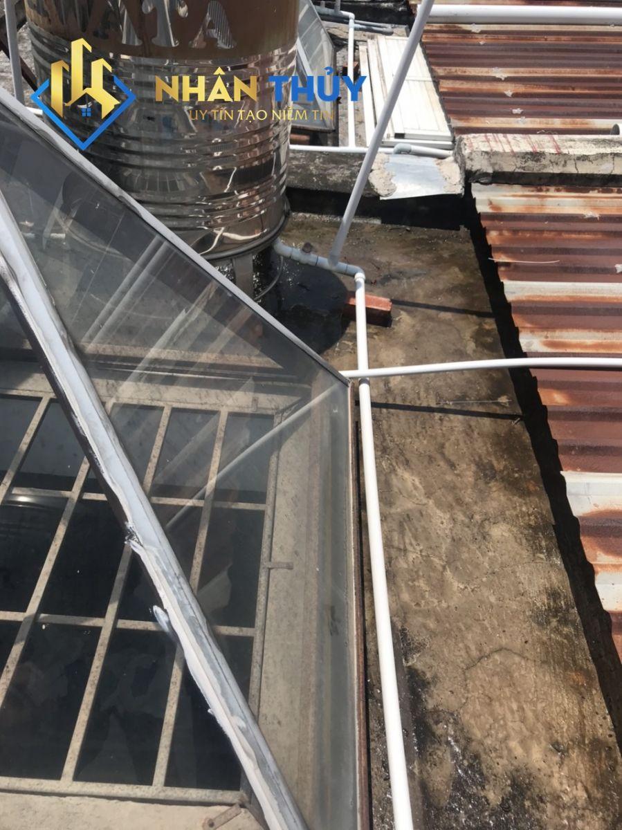 chống thấm sân thượng tại quận 1