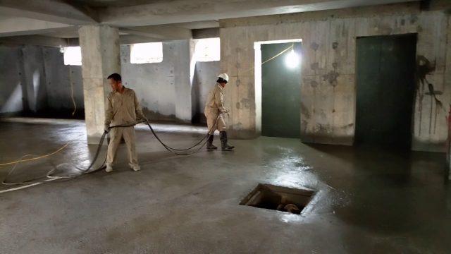 thợ chống thấm tầng hầm quận 2