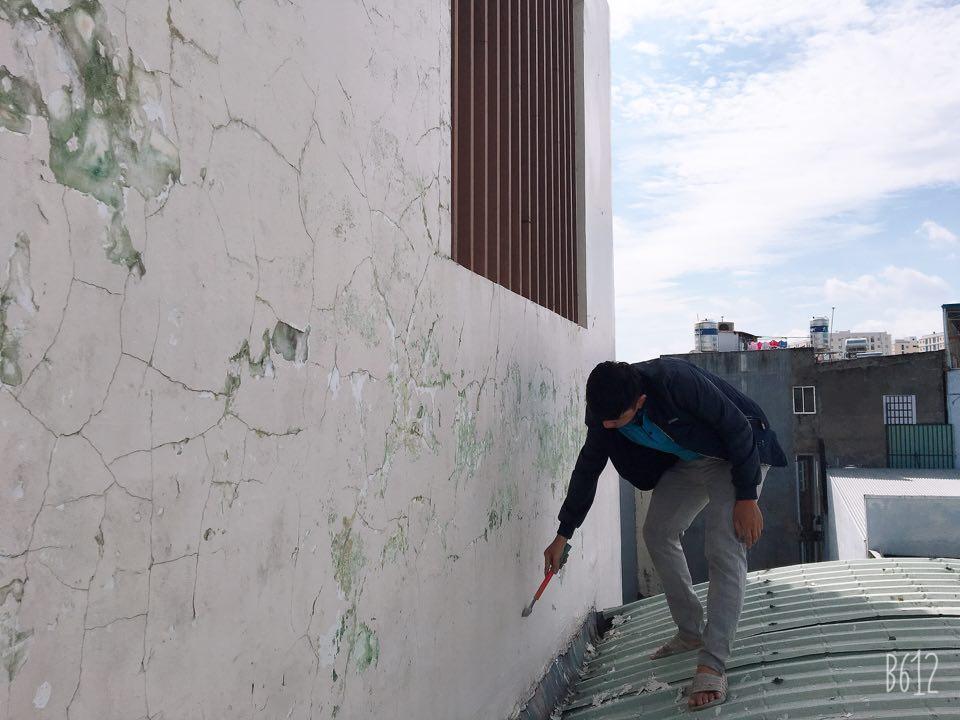 chống thấm tường ngoài trời hiệu quả