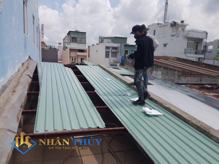 sửa mái tôn dột biên hòa