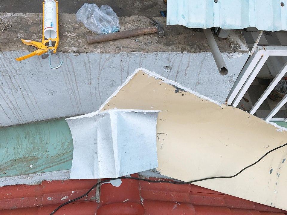 dịch vụ chống dột mái tôn long an