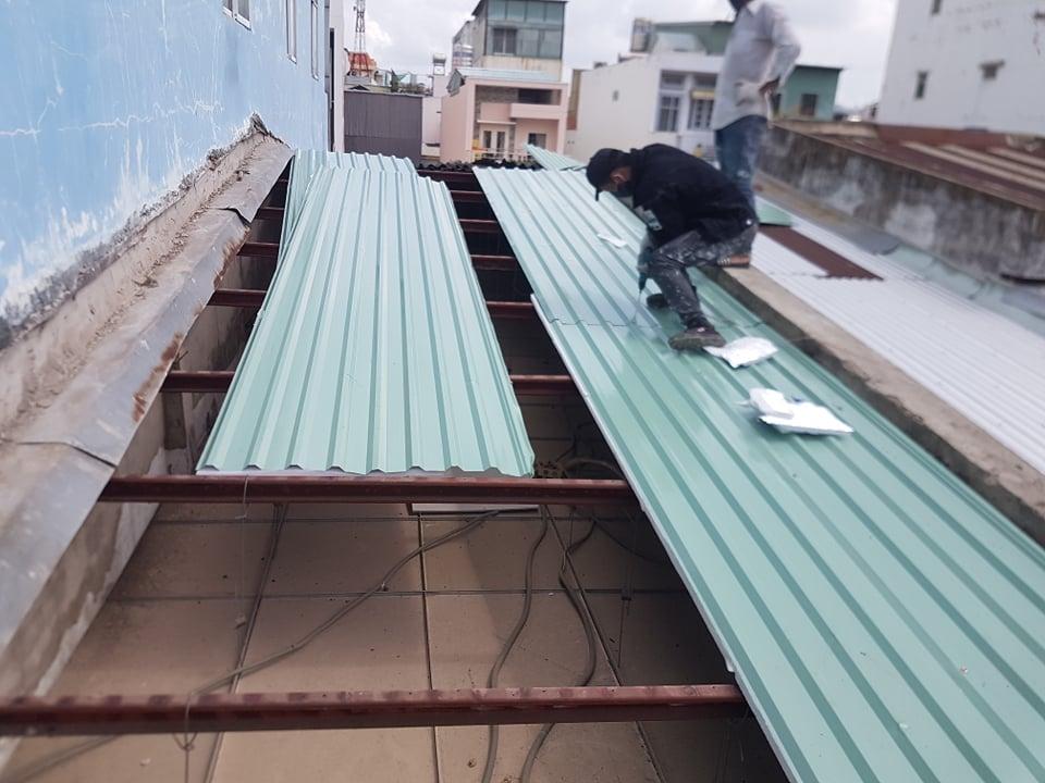 dịch vụ chống dột mái tôn tại thủ đức