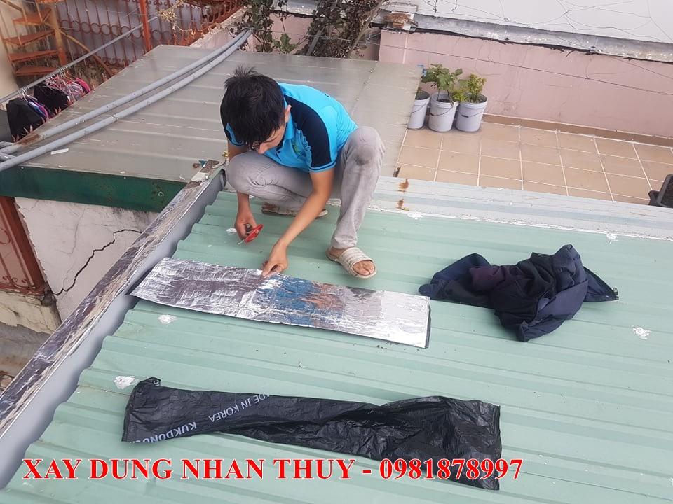 dịch vụ chống thấm dột mái tôn tại tphcm