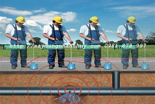 dịch vụ dò ống nước ngầm
