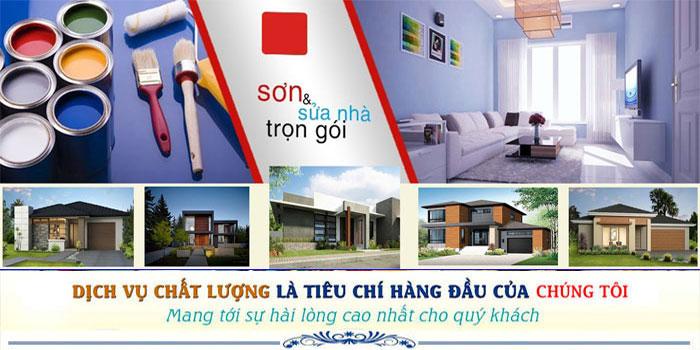 sơn nhà đep bình chánh