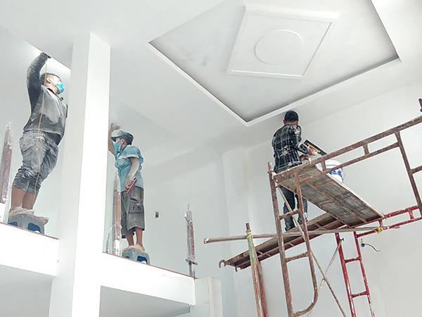thợ sơn nhà huyện nhà bè