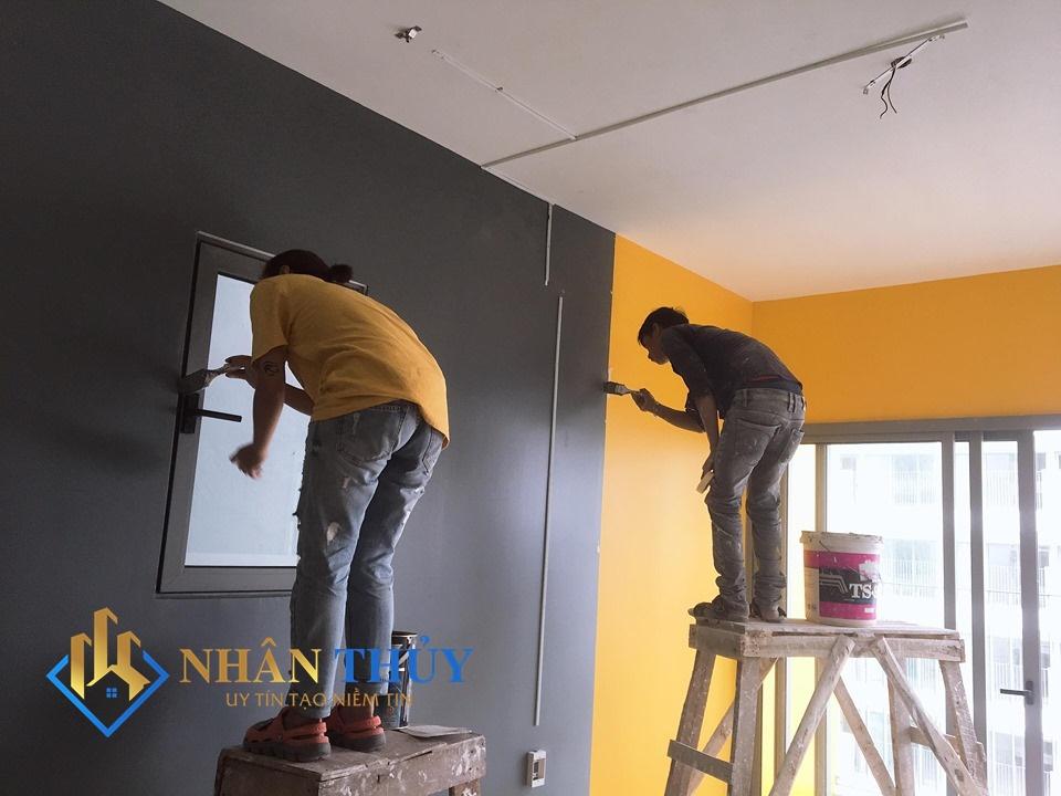 sơn nhà chuyên nghiệp quận 4