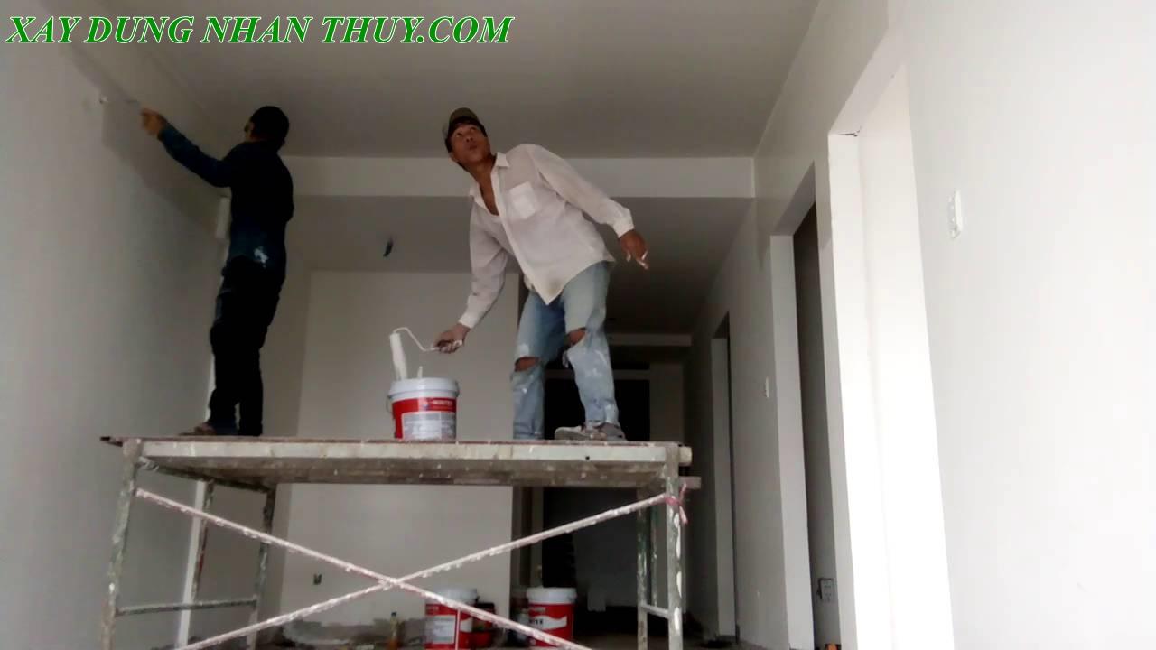 thợ sơn nhà nhà trọn gói giá rẻ tại quận 5