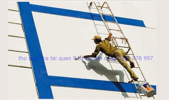 dịch vụ sơn nhà tại quận 9
