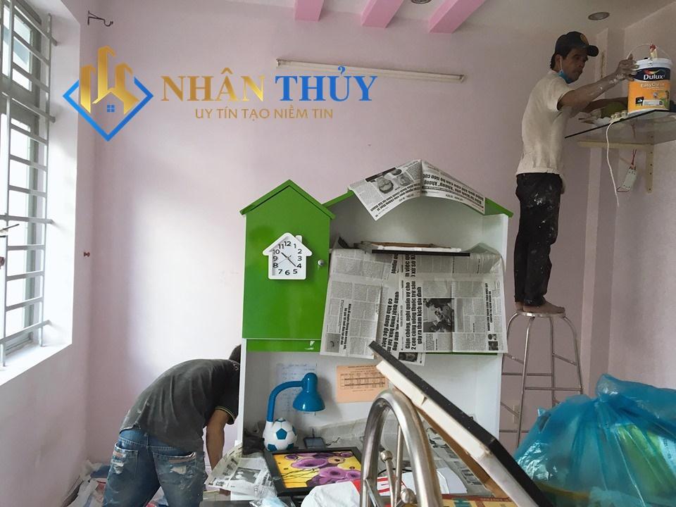 sơn nhà giá rẻ tại quận 4