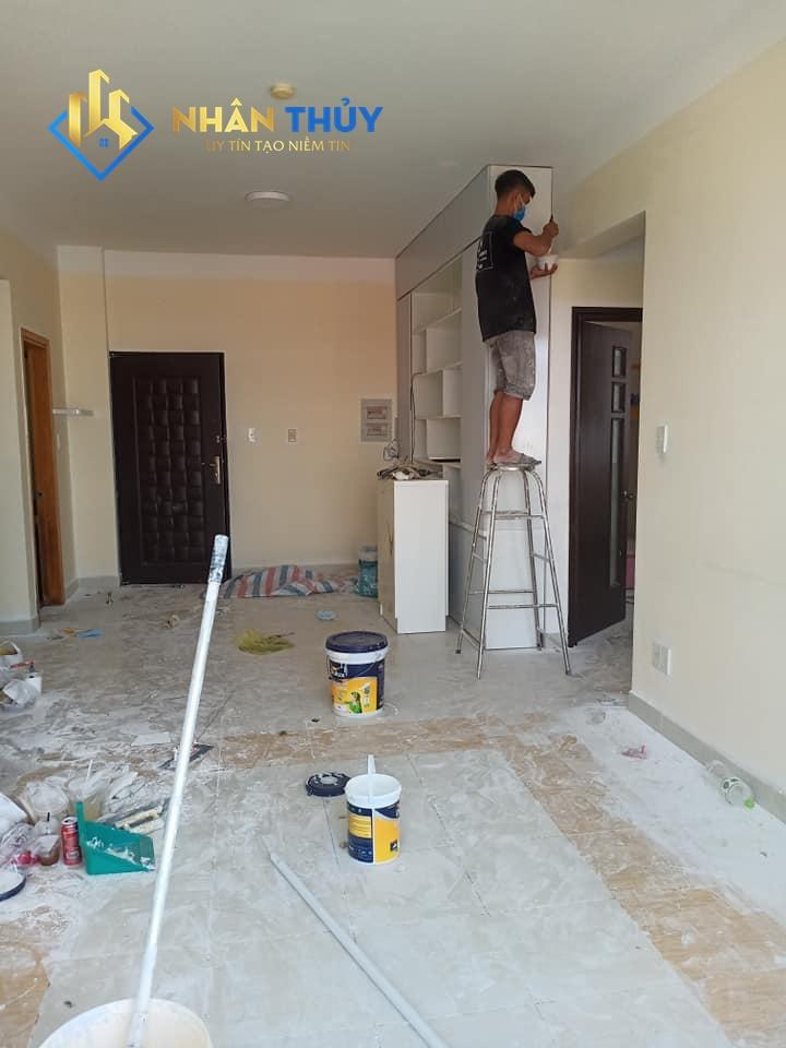 dịch vụ sơn nhà đẹp tại TPHCM