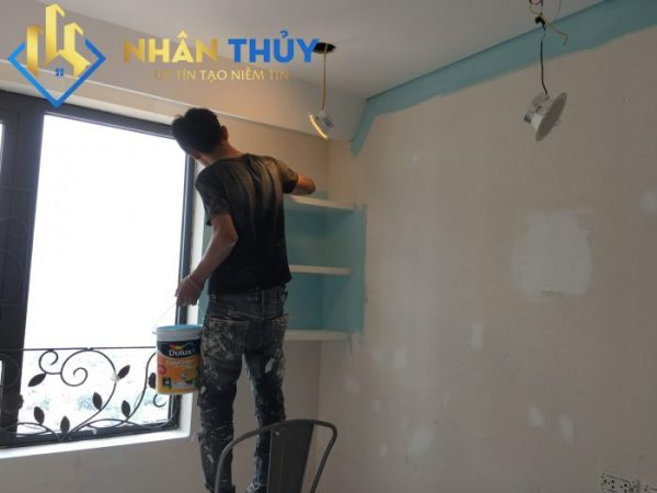 sơn nhà tại bình chánh