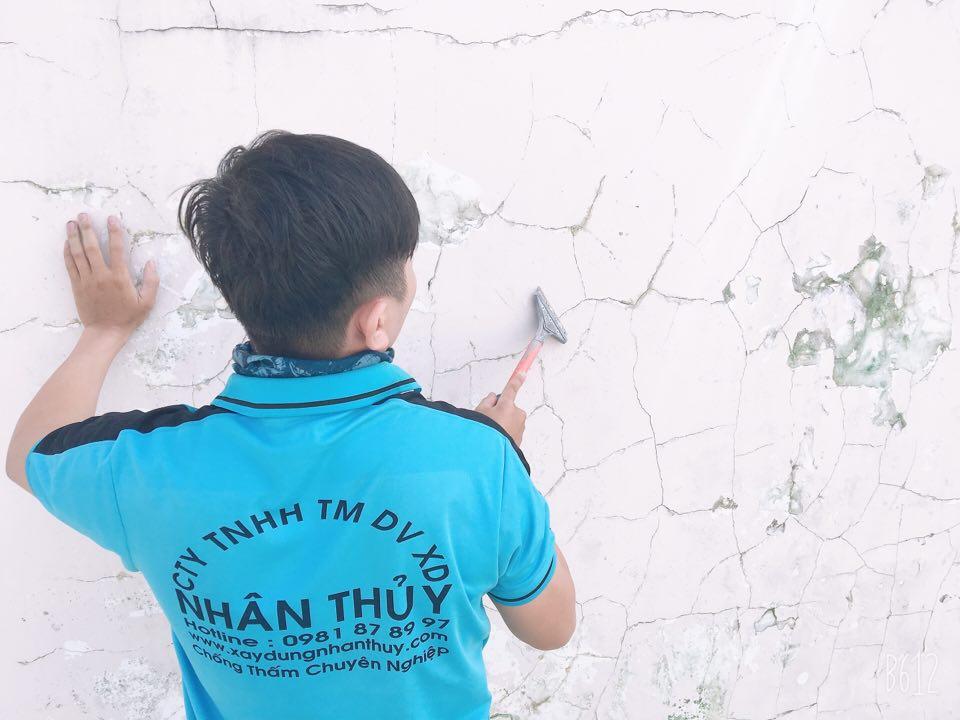 chống thấm tường nhà tphcm