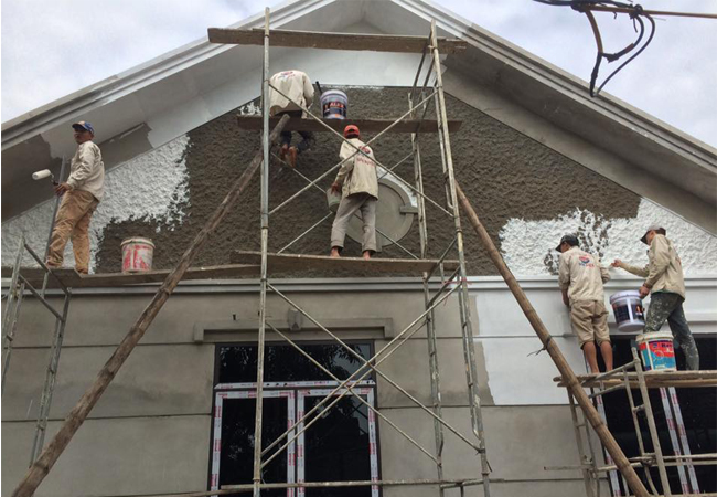 Kinh nghiệm sơn lại nhà cũ- Quy trình chuẩn khi sơn tường nhà