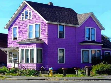 màu sơn nhà cho người mệnh thổ