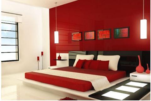 phối màu sơn phòng ngủ cho người mênh hỏa