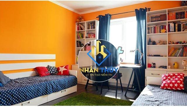màu sơn phòng ngủ cho người mệnh thổ