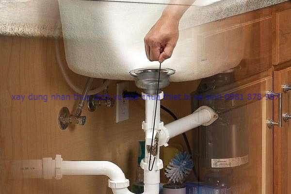 thông nghẹt lavabo
