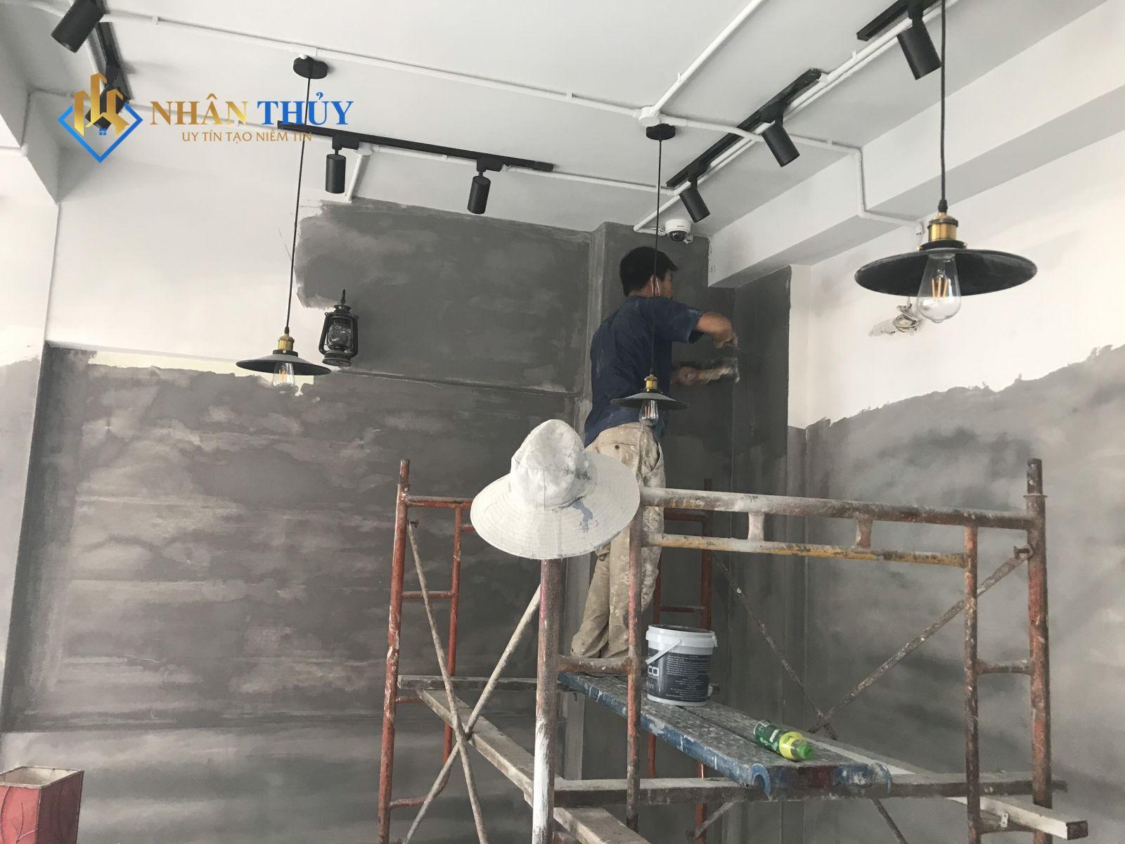sơn hiệu ứng bê tông stuc