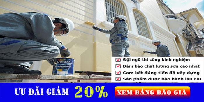 thợ sơn nhà tại quận bình tân