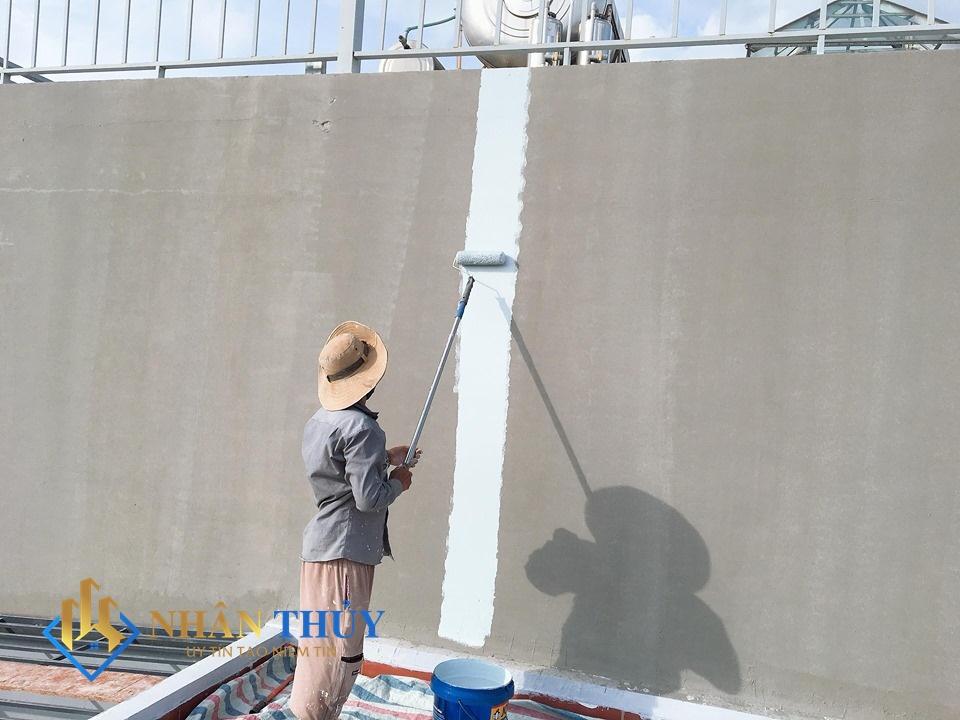 dịch vụ sơn nhà huyện nhà bè