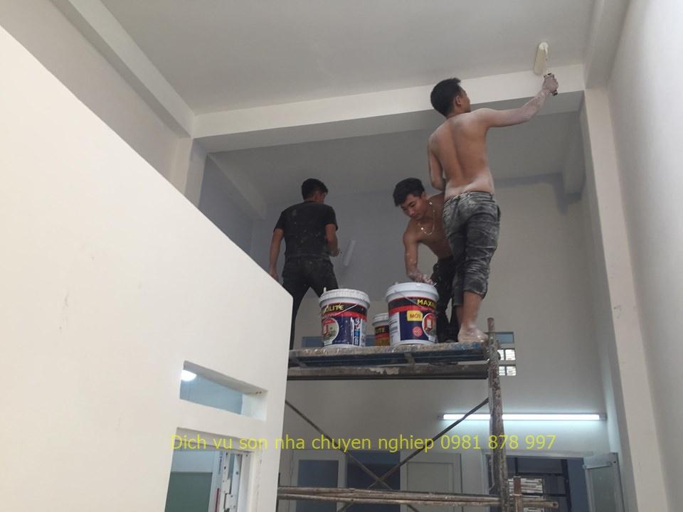 sơn nhà tại quận thủ đức