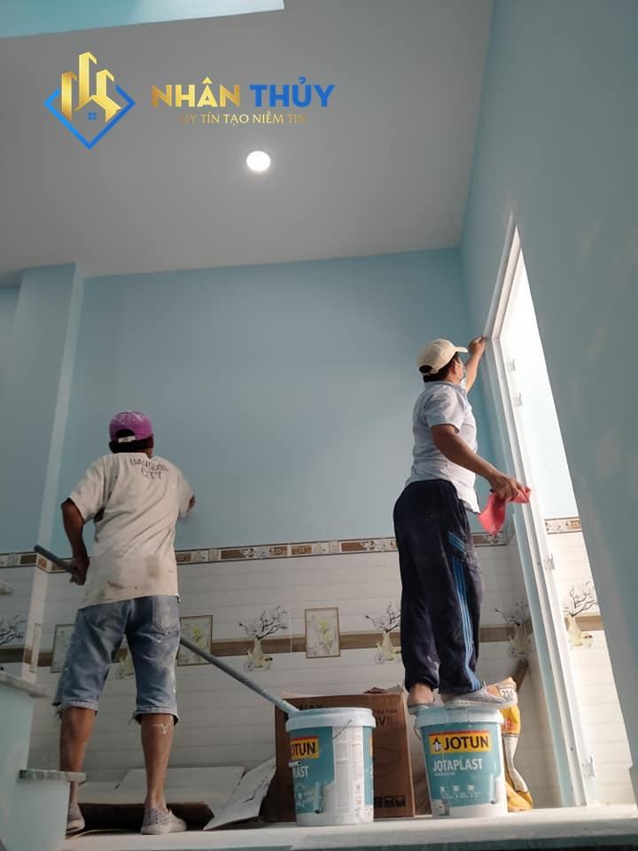 sơn nhà giá rẻ tại tân uyên