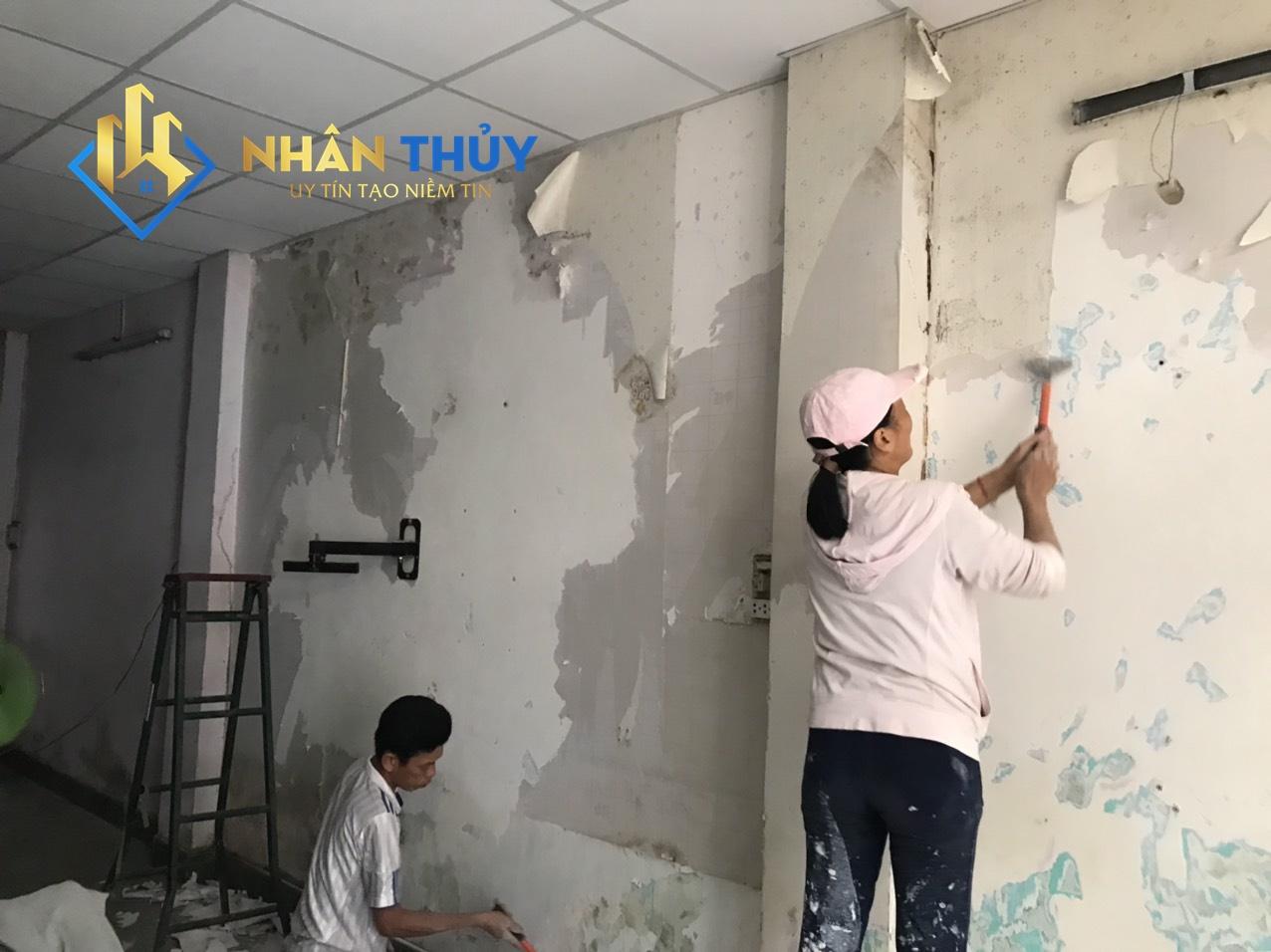 thợ sơn nhà tại long an