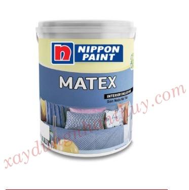 Bảng màu sơn nippon nội thất Matex