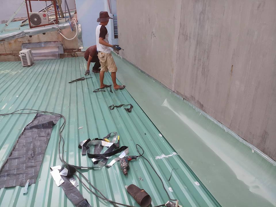 sửa chữa mái tôn tphcm