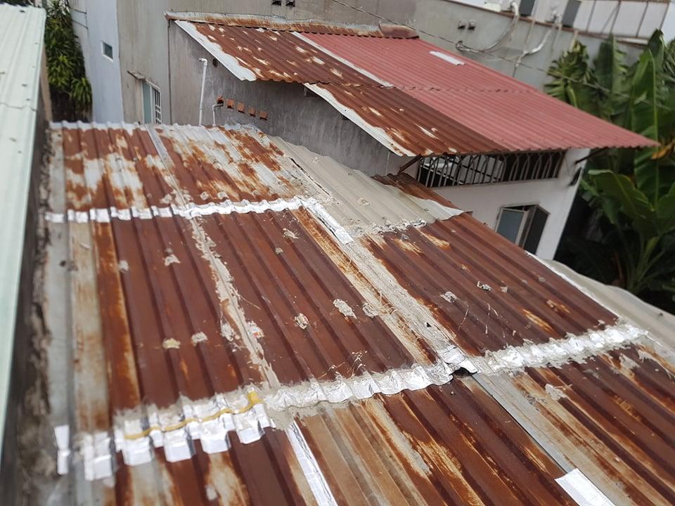 sửa chữa mái tôn cũ quận tân phú