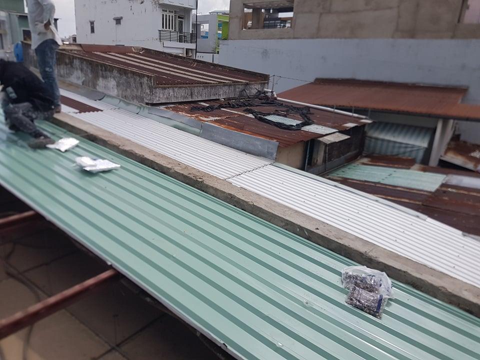 sửa chữa mái tôn quận bình thạnh