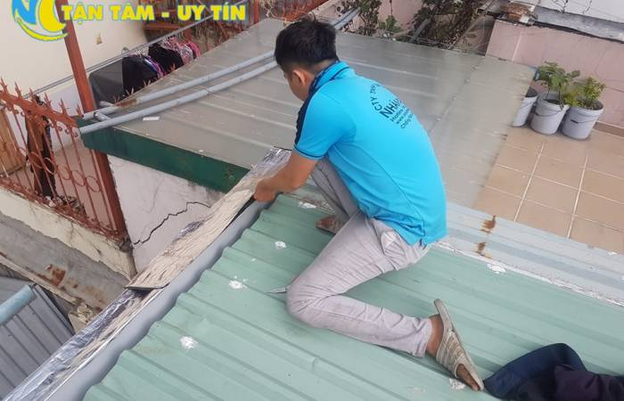 sửa mái tôn tại bình dương