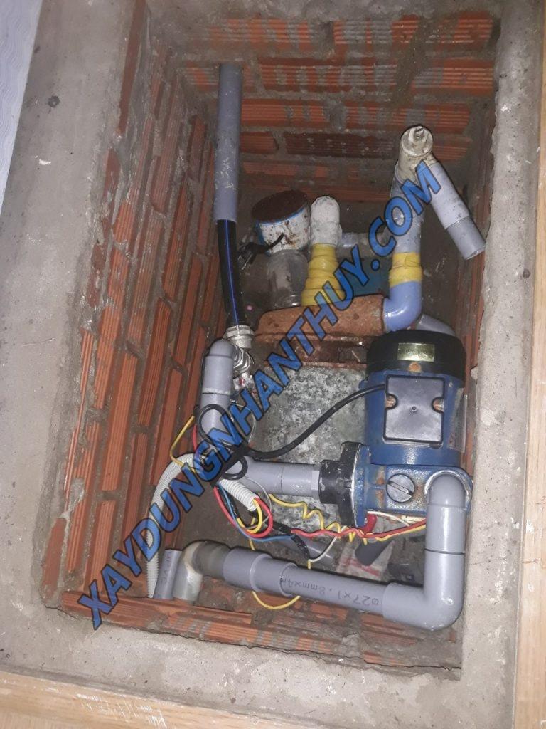 thợ sửa máy bơm nước bị rò rỉ tại quận tân bình