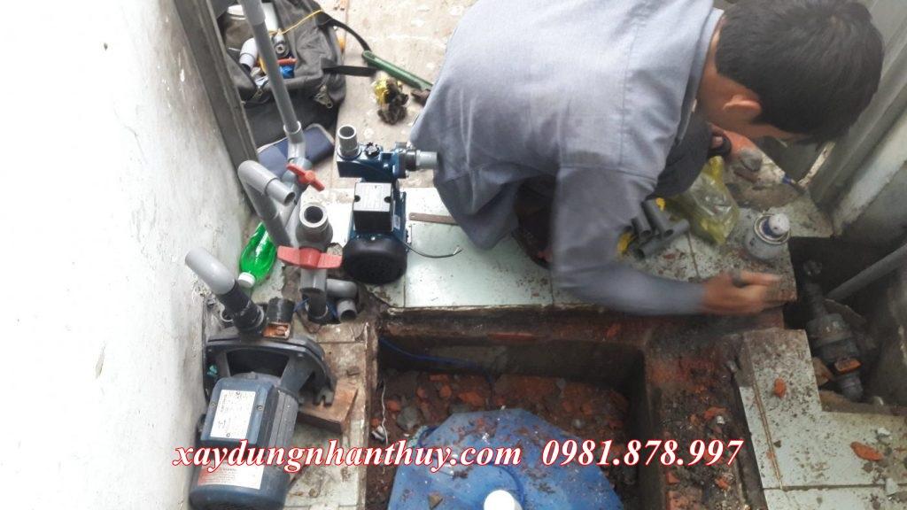 dịch vụ sửa chữa máy bơm nước quận 12