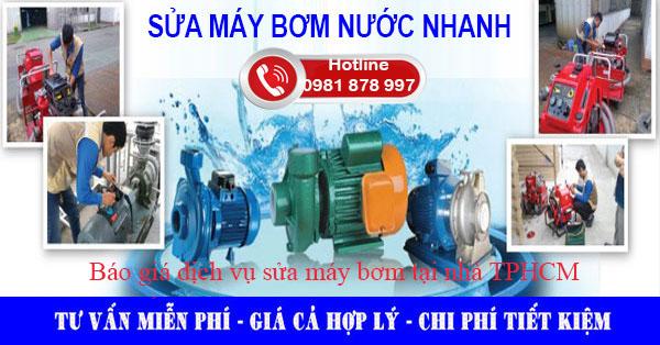 sửa chữa máy bơm nước giá rẻ
