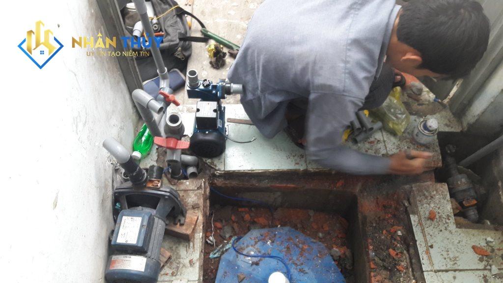 sửa máy bơm nước quận 7