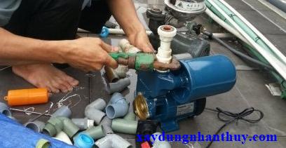 thợ sửa máy bơm nước tại nhà bè