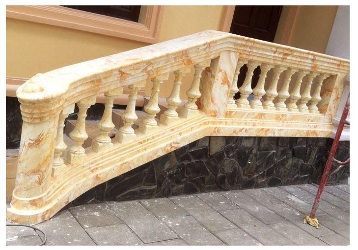 mẫu sơn giả đá cẩm thạch cho cầu thang